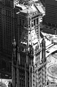 Woolworth Building Framed Prints - The Top Of The Woolworth Building, New Framed Print by Everett