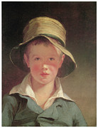 Boy Wearing A Hat Prints - The Torn Hat Print by Thomas Sully