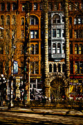 Seattle Center Prints - The Totem Pole at Pioneer Square Print by David Patterson