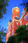 Samford Hall Framed Prints - The Tower Framed Print by JC Findley