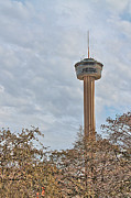Tower Of The Americas Photos - The Tower of the Americas HDR by Sarah Broadmeadow-Thomas