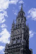 Elected Prints - The Tower On The Rathaus, City Print by Taylor S. Kennedy