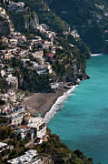 Y120907 Art - The Town Of Positano by Driendl Group
