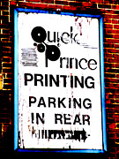 Beckley Wv Photographer Posters - The Town Printer Poster by Lj Lambert