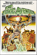 1980s Framed Prints - The Toxic Avenger, Mitchell Cohen, 1985 Framed Print by Everett