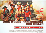 John Wayne Posters - The Train Robbers, Rod Taylor, Ben Poster by Everett