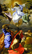 The Transfiguration Of Our Lord Print by Lodovico Carracci