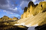 Drei Prints - The Tre Cime De Lavaredo, Italy Print by Bob Gibbons