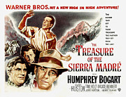 Films By John Huston Prints - The Treasure Of The Sierra Madre Print by Everett