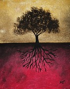 Change Painting Originals - The Tree of Life by Edwin Alverio