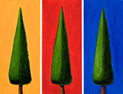 Cypress Tree Digital Art Prints - The Treeo Print by Mauro Celotti