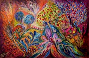 Kabbalah Art - The Trees of Eden by Elena Kotliarker