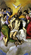 The El Framed Prints - The Trinity Framed Print by El Greco