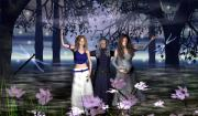 Crone Goddess Metal Prints - The Triple Goddess Metal Print by Eva Thomas