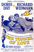 Mcdpap Framed Prints - The Tunnel Of Love, Gia Scala, Doris Framed Print by Everett
