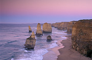 Under The Ocean Photo Prints - The Twelve Apostles II Print by Christian Heeb