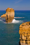 The Twelve Apostles In Port Campbell National Park Australia Print by Louise Heusinkveld
