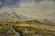 Connemara Paintings - The Twelve Bens by Rob Hemphill