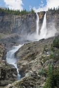 British Columbia Posters - The Twin Falls In Yoho National Park Poster by Philippe Widling