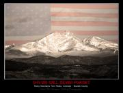 Striking Photography Photos - The Twin Peaks - 9-11 Tribute -Poster by James Bo Insogna