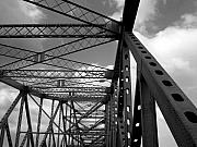 Bridge Framed Prints - The TZ Framed Print by Kenneth Hess