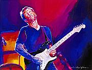 Eric Clapton Art - The Ultimate Eric Clapton by David Lloyd Glover