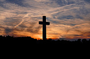 Crucifixion Photo Acrylic Prints - The Ultimate Sacrifice Acrylic Print by Benanne Stiens