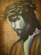 Christian Artwork Paintings - The Ultimate Sacrifice by Hannah Greer