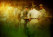 Turn Of The Century Digital Art - The Umpires by Chris Modarelli