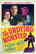 Horror Movies Posters - The Undying Monster, Heather Angel Poster by Everett