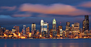 Seattle Skyline Art - The Unexpected by Aaron Reed Photography