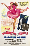 Unfinished Prints - The Unfinished Dance, Margaret Obrien Print by Everett