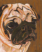 Pet Pug Art - The Unflappable Kiwi by David  Hearn