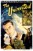 Newscanner Framed Prints - The Uninvited, Gail Russell, Ray Framed Print by Everett