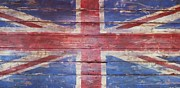 Anna Villarreal Garbis Framed Prints - The Union Jack Framed Print by Anna Villarreal Garbis