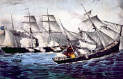 Rire Art - The Union Sloop Of War Kearsarge by Everett