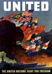 Ww1 Digital Art - The United Nations Fight For Freedom by War Is Hell Store
