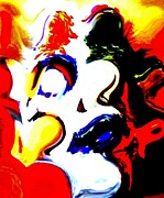 Wall Mask Mixed Media - The Unmasking of Youth by Jackie Bodnar 