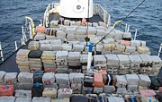 Smuggling Photo Prints - The U.s. Coast Guard Made A Record Drug Print by Everett