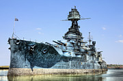 Battleship Photos - The U.S.S. Texas by JC Findley