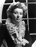 Garson Framed Prints - The Valley Of Decision, Greer Garson Framed Print by Everett