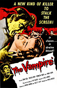 1957 Movies Framed Prints - The Vampire, John Beal, Coleen Gray Framed Print by Everett
