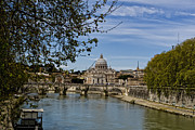 Michelangelo Framed Prints - The Vatican by Day Framed Print by Michelle Sheppard