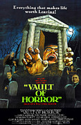 Horror Movies Photos - The Vault Of Horror, Center Right Anna by Everett