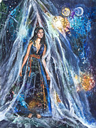 Portal Originals - The Veil is Parted The Three Fates II by Patricia Allingham Carlson