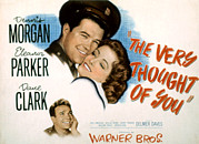 Love Triangle Posters - The Very Thought Of You, Dennis Morgan Poster by Everett