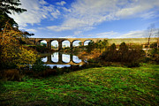 Australian Landscape Prints - The Viaduct Print by Heather Thorning