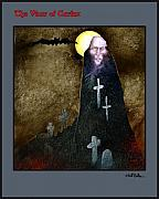 Ghoul Framed Prints - The Vicar of Crafax... Framed Print by Will Bullas
