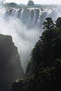 Zimbabwe Photos - The Victoria Falls by Alex Cassels