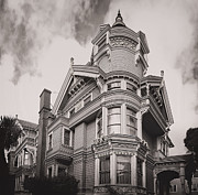 Finial Posters - The Victorian Haas Lilienthal House - San Francisco Poster by Daniel Hagerman